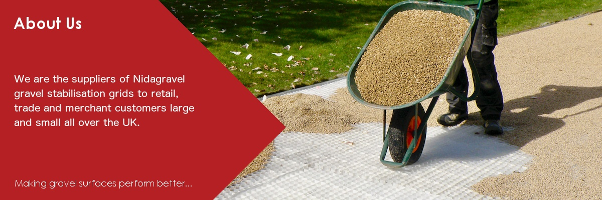 Gravel Stabilisation Grid Suppliers | Nidagravel UK