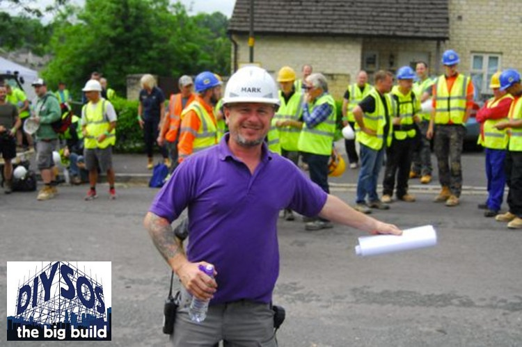 Gravel Grids For DIY SOS Gloucestershire Build